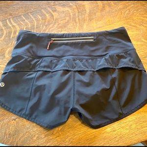 Lululemon Run Speed-up Shorts